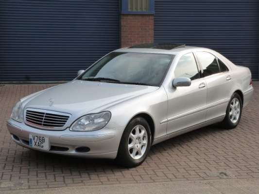 Used 1999 (X reg) Silver Mercedes-Benz S Class S430i for sale on RAC Cars