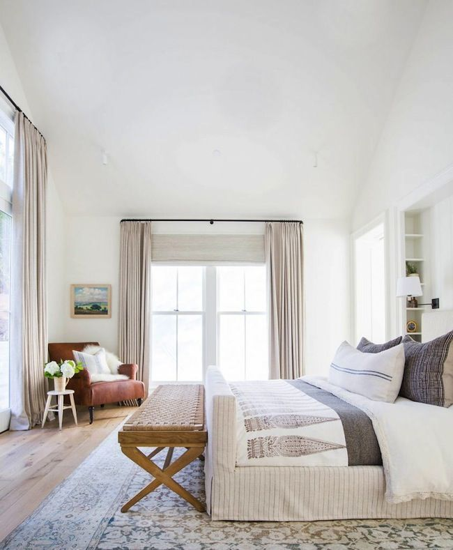 Amber Interiors does it again! You've got to see every room of this dream home | lark & linen #bedroom #neutralbedroom #whitebedroom