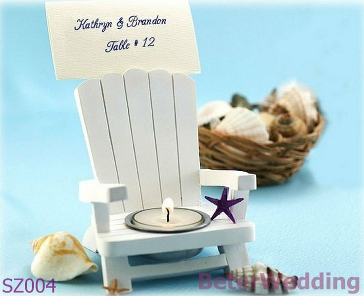 Adirondack Chair Tealight and Place Card Holder SZ004 Wedding Gift_Wedding Souvenir_Wedding Favor @Gail Regan Truax://www.aliexpress.com/store/512567