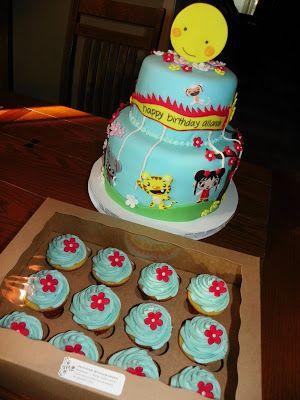 Plumeria Cake Studio: Ni Hao Kai Lan Birthday Cake #3 (Allanah)