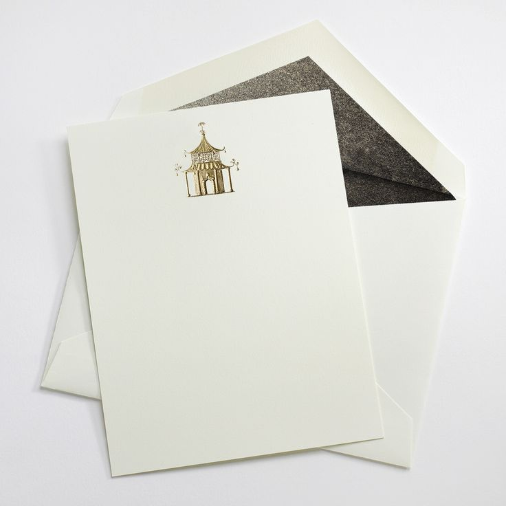 Pagoda Notes - Mrs. John L. Strong Fine Stationery and Gifts