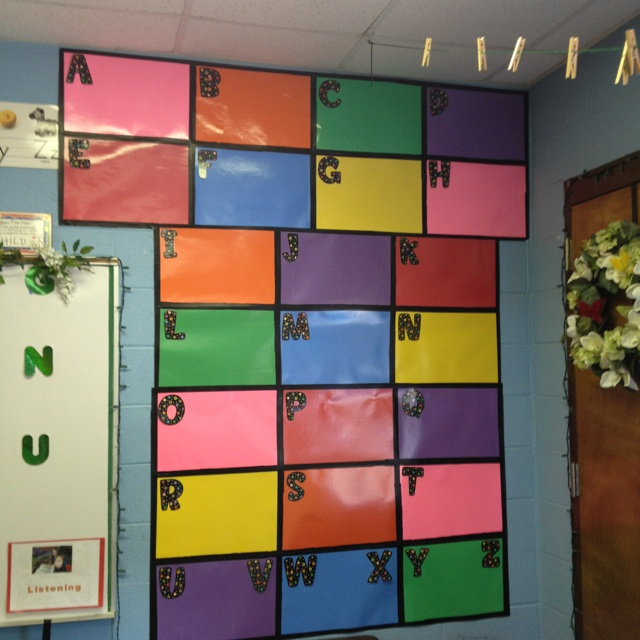 Classroom Word Wall Ideas ~ Images about pre k word walls on pinterest pocket