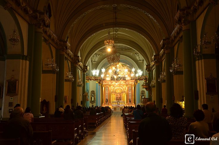 Eglise Santo Domingo - Lima