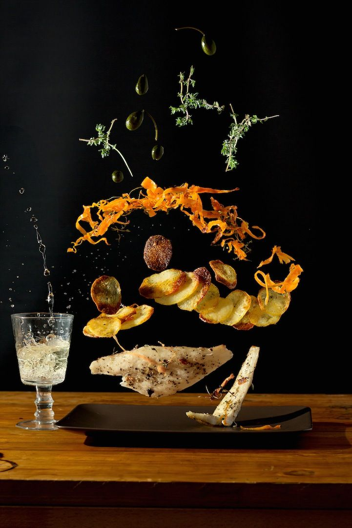 Exciting Arrangements of Food Suspended in Mid-Air - My Modern Met