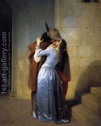 The Kiss 1859  by Francesco Paolo Hayez