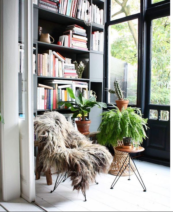 my scandinavian home: A home of a collector in rich, warm tones