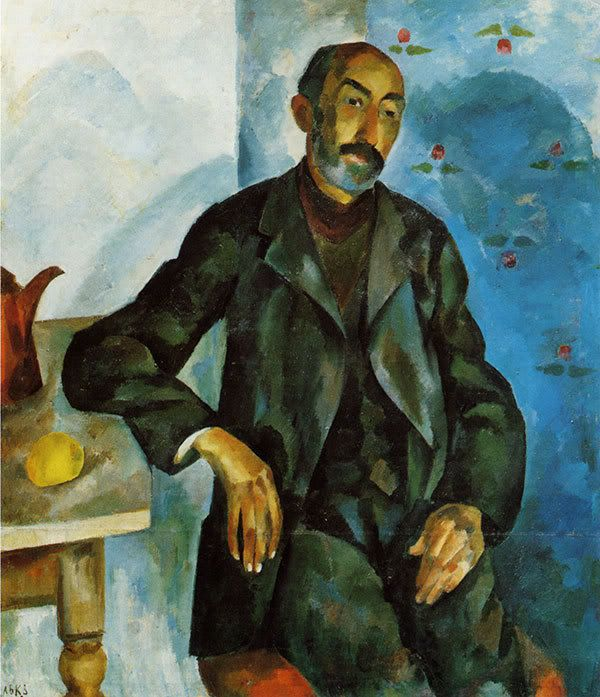 Old man, 1913, Robert Falk, Russia 1886-1958