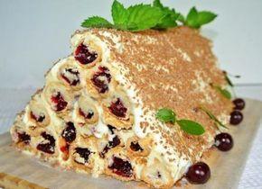 Один из самых вкусных и красивых тортов!, рецепт торта МОНАСТЫРСКАЯ ИЗБА, Вишневый торт МОНАСТЫРСКАЯ ИЗБА