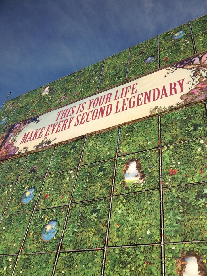 Make every second legendary. #tomorrowland