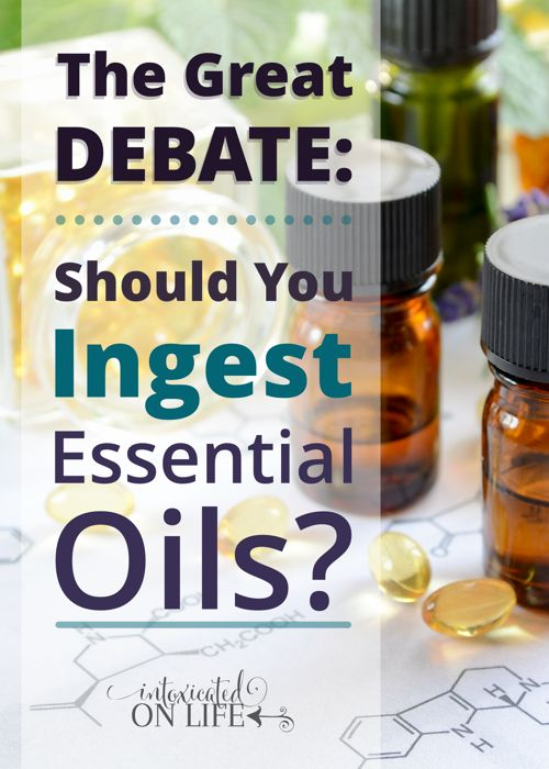 Some say to never swallow essential oils. Others say ingesting oils is perfectly safe. Others stand in the middle on the issue. Why the debate?