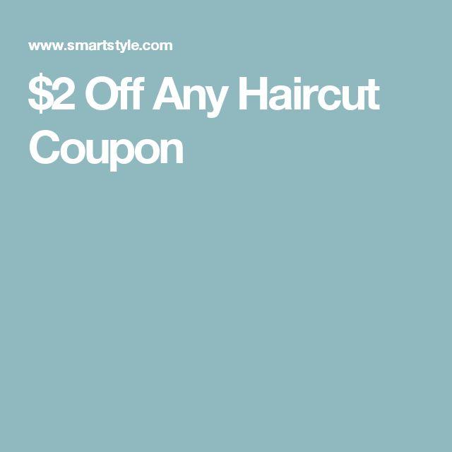 $2 Off Any Haircut Coupon