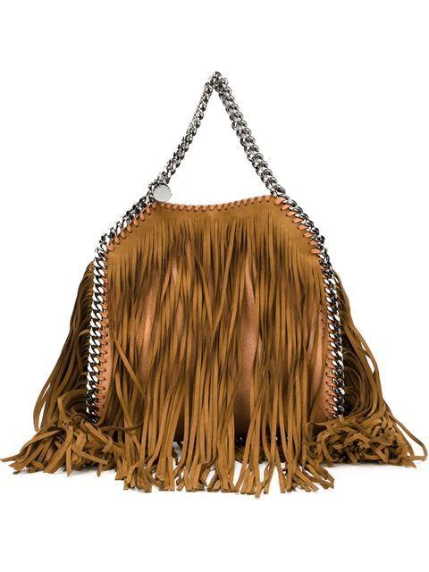 Stella McCartney 'Falabella' Handtasche mit Fransen