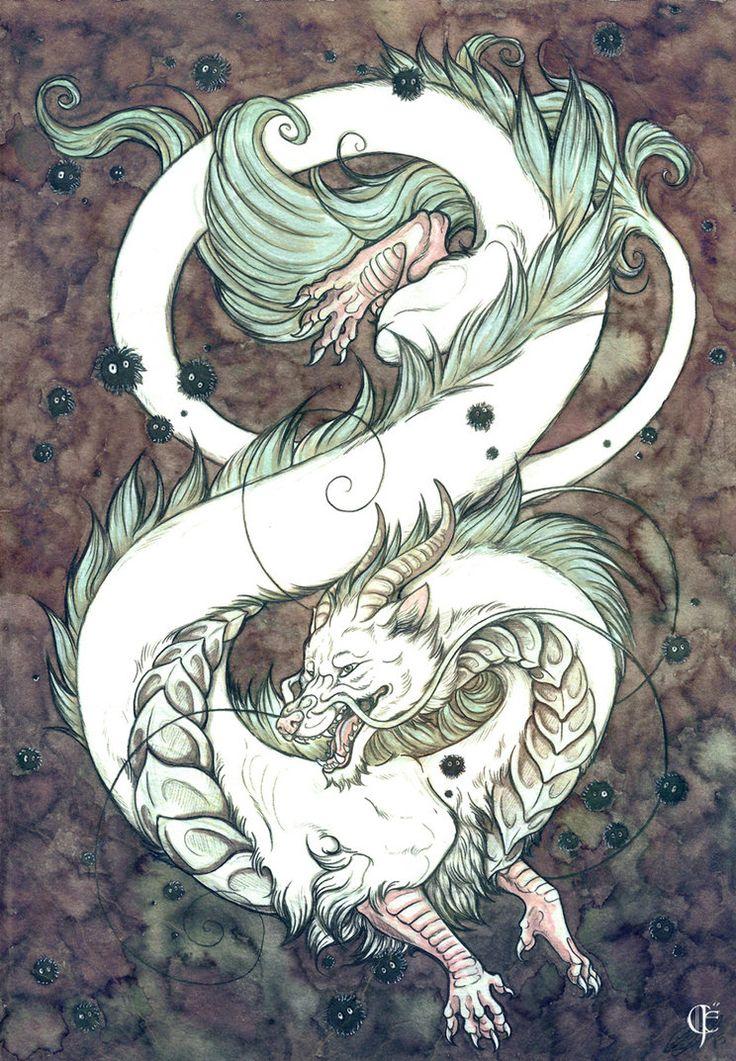 Ko Haku River Spirit by ColletteJEllis
