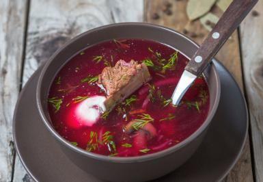 Easy Polish Beet Borscht Soup (Barszcz Czysty Czerwony) Recipe: Beet Soup