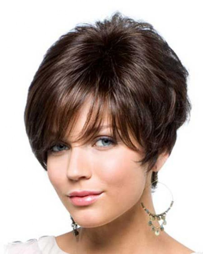 Hairstyles For Short Hair With Less Volume : Push up on Pinterest