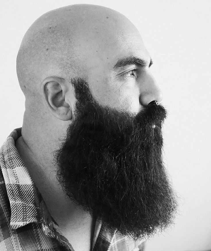 places for haircuts best 25 beard bald ideas on bald with beard 2779