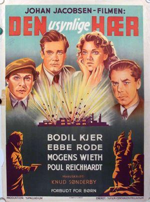 Den usynlige hør (1945). om modstandskampen og et trekantsdrama.