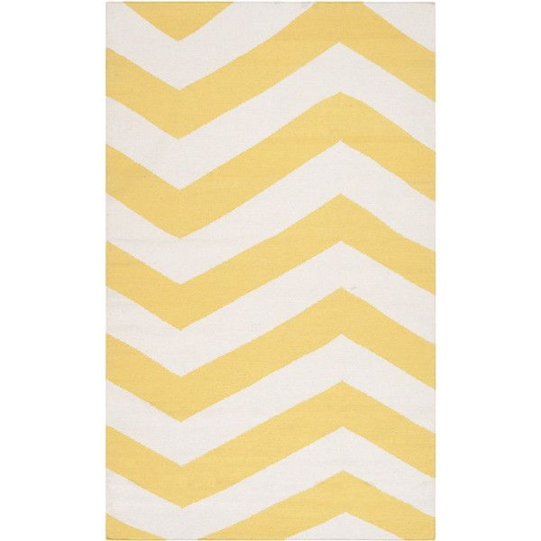 covina flatweave chevron area rug 310 liked on polyvore featuring home