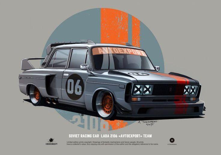 Арт-кастомизация советских автомобилей: фотографии