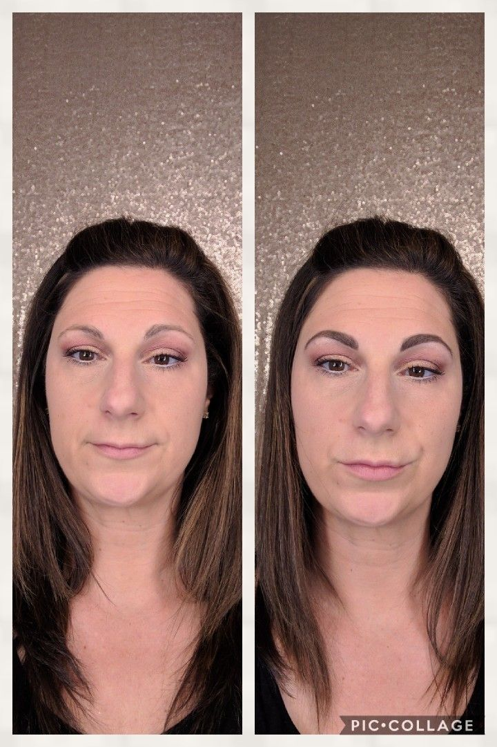 BROWS MATTER.  Younique brow palette and artist brush.