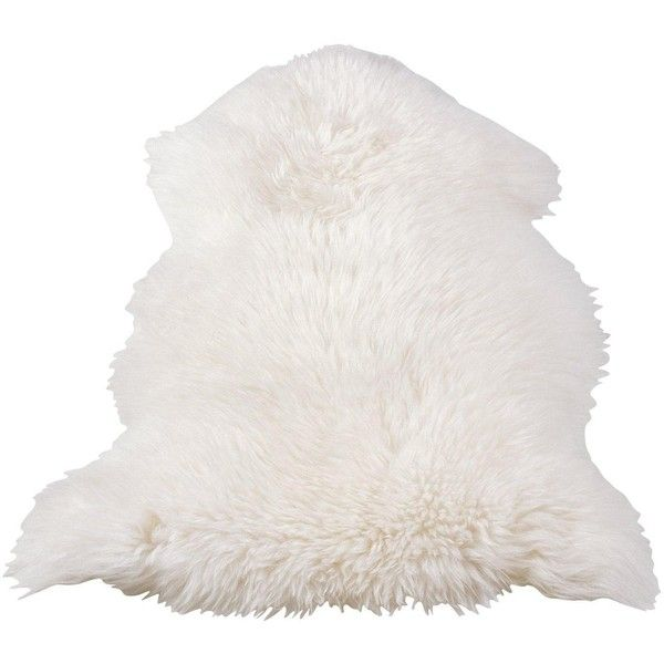 Genuine Sheepskin Wool Rug ($72) ❤ liked on Polyvore featuring home, rugs, sheepskin wool rug, sheepskin rug, sheep-skin rug, wool area rugs and sheepskin area rug