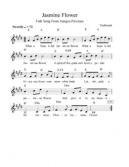 Jasmine Flower [Mo Li Hua ; 月亮代表我的心] (Sheet music) http://www.scribd.com/jazztractor