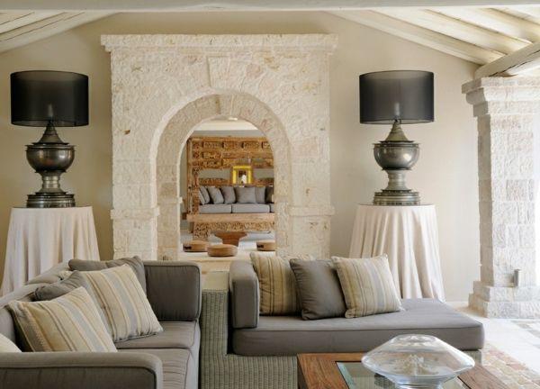 Die besten 25+ Mediterrane lampen Ideen auf Pinterest - einrichtungsideen wohnzimmer mediterran