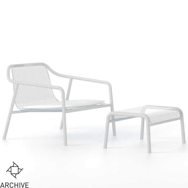 Tacchini - Jacket Outdoor armchair (NEW) @Archive Galata