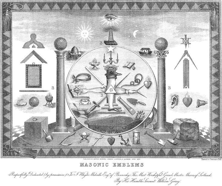 24 best masonic ball images on pinterest freemasonry masonic masonic emblems lithograph pronofoot35fo Images