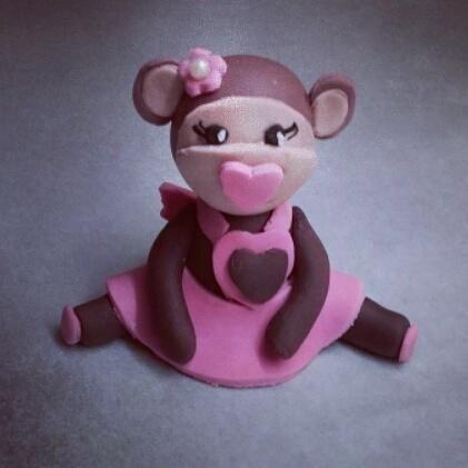 Little monkey girl  - Cake by ggr