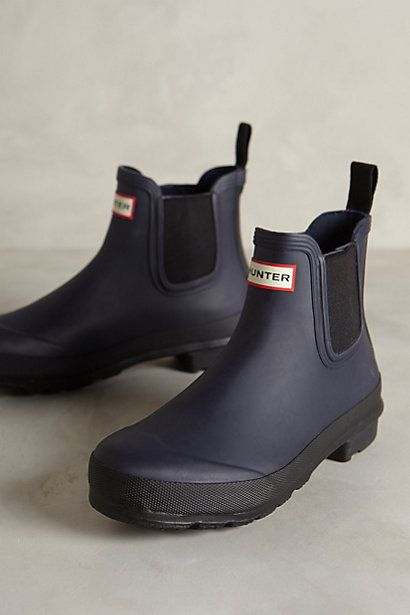 Hunter Original Two Tone Chelsea Boots #anthrofave