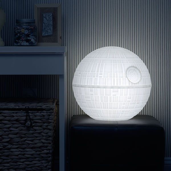 A Giant Color Changing Death Star Mood Light Built for Indoor and Outdoor Use