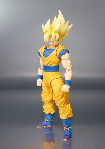 Kirin Hobby: Dragon Ball Z DBZ Super Saiyan Goku SH Figuarts Action Figure Bandai 4543112599124