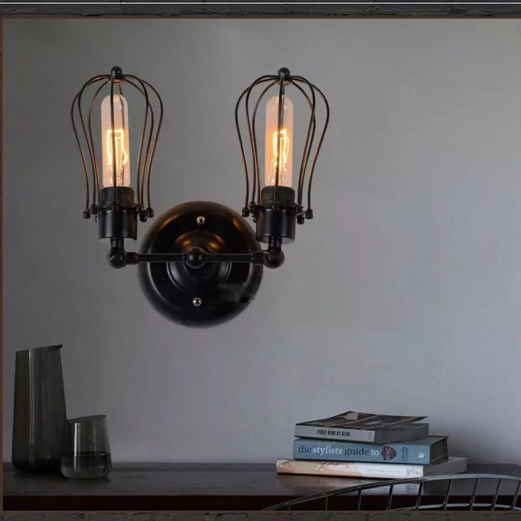 free shipping, $99.66/piece:buy wholesale  lixada 2 head vintage retro cases lamp light e27 wall sconce mounted for bedroom loft living hall order<$18no track down,e27,led bulbs on zwell_co_ltd's Store from DHgate.com, get worldwide delivery and buyer protection service.