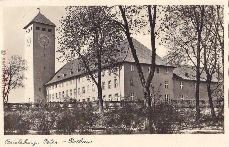 Ortelsburg, Ostpr. - Rathaus. 1940.