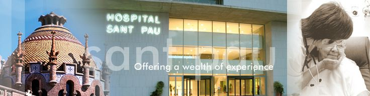Offering a wealth of experience Hospital de la Santa Creu i Sant Pau - architect Lluis Domenech i Montaner