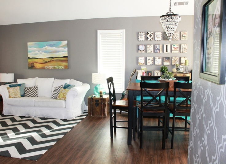 Creatively Quirky At Home My New Gray Living Room Sherwin Williams Dove Tail