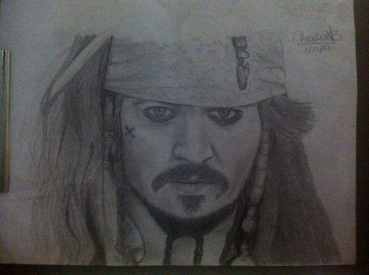 Jack Sparrow/Jhonny Deep  By: Claudia Vallejo