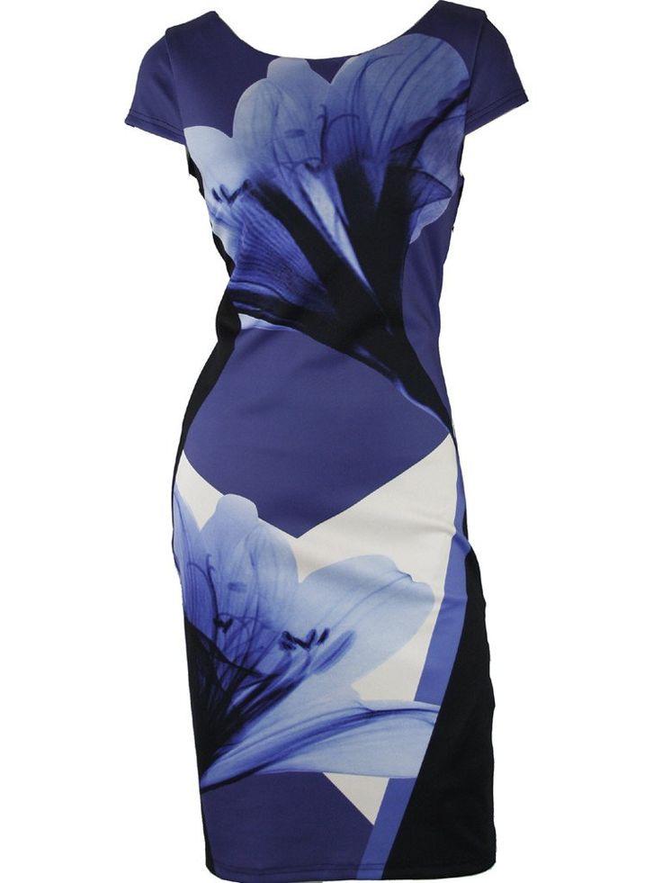 Prabo Digital Floral Dress