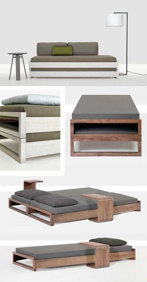 I saved this pin years ago and this is still my favorite stacking bed. The Guest bed by Hertel & Klahoefer: simple, minimal and elegant. Pure design. Check the pictures below. Enjoy! Mi cama de…