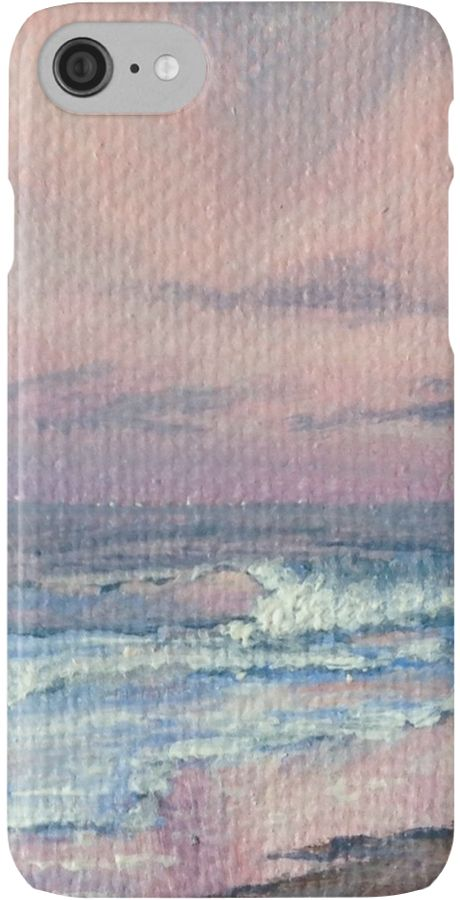 Pink Sunrise at the Beach by Goldstarwork