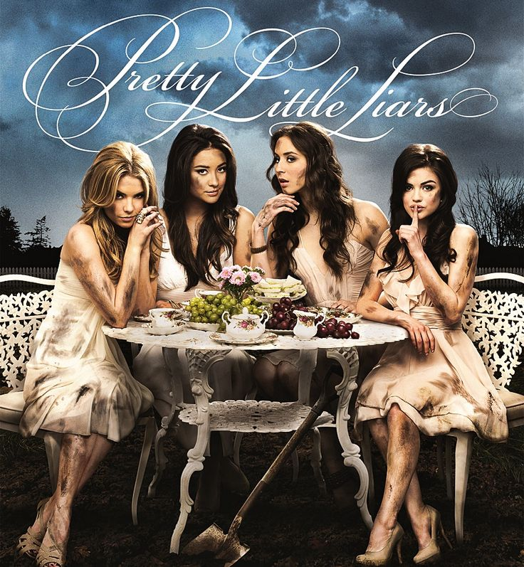 Pretty Little Liars, dizem que a série é boa só nunca assisti rsrs