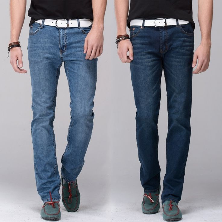 33.59$  Watch now - http://alif7w.shopchina.info/1/go.php?t=1962322744 - Men jeans stretch denim skinny jeans pencil pants skinny leg fit slim straight trousers tight pants   #buychinaproducts