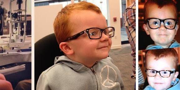 """""""Glasses for Noah"""", la pagina Facebook degli """"occhialuti"""" che diventa virale"""