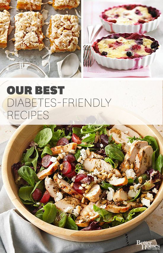 Give these nutritious and delicious dishes a shot to help keep your diabetes in check: http://www.bhg.com/recipes/healthy/diabetic/diabetic-main-course-summer-recipes/?socsrc=bhgpin101314