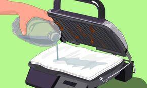 Így tisztítsd meg az elektromos grilleződ kaparások nélkül, könnyedén!