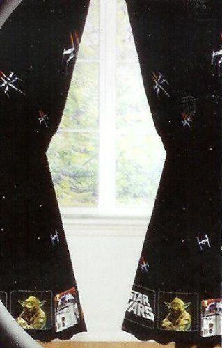 Pin By Laura Bennett On Jayden S Room Star Wars Curtains
