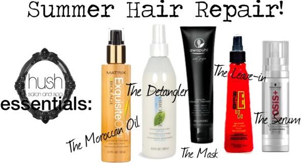 """""""summer hair repair"""" by raaac on Polyvore"""