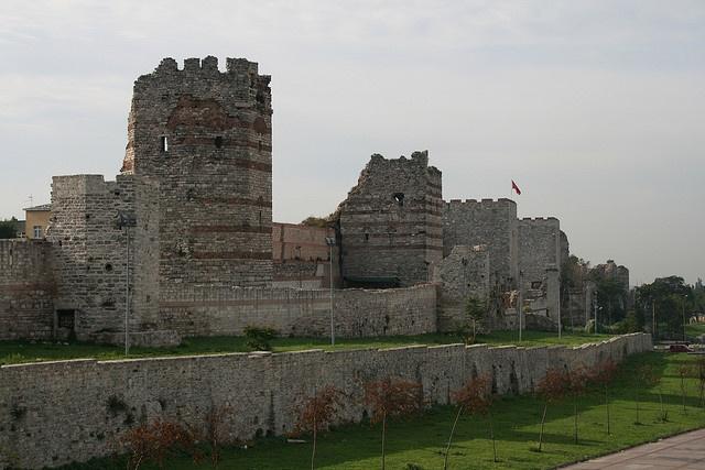 Walls of ancient Constantinople