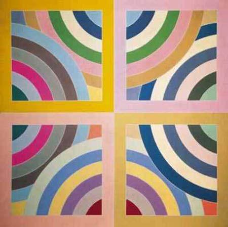 31 best frank stella 1936 images on pinterest abstract for Minimal art frank stella